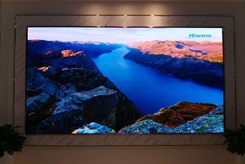 海信大厦接待室全液晶LED显示屏