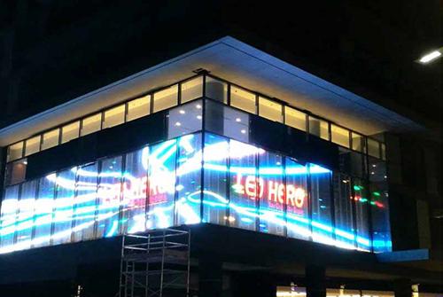 福州玻璃led显示屏